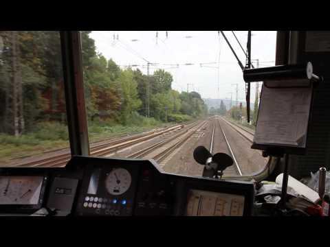 Mit der SBB Re 421 im Ruhrpott unterwegs – Führerstandsmitfahrt