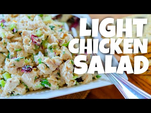 Chicken Salad Recipe - Cooking Light - Healthy Food - Low Carb Recipes - Easy Chicken Recipes