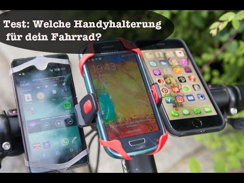 Handy Fahrradhalterung Test: 3 Modelle im Vergleich