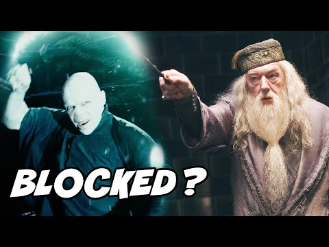 How Did Dumbledore BLOCK Voldemort's Avada Kedavra to Save Harry? - Harry Potter Explained
