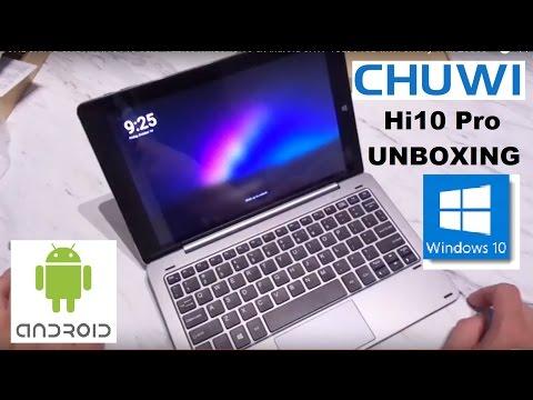 UNBOXING CHUWI Hi10 Pro 10.1