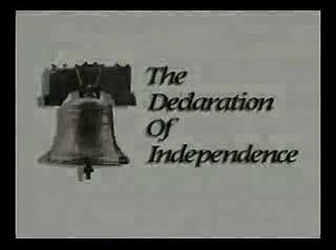 the declaration of independence 1776. The Declaration of