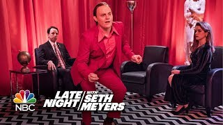 "Late Night with Seth Meyers: ""Twin Peaks"" Style"