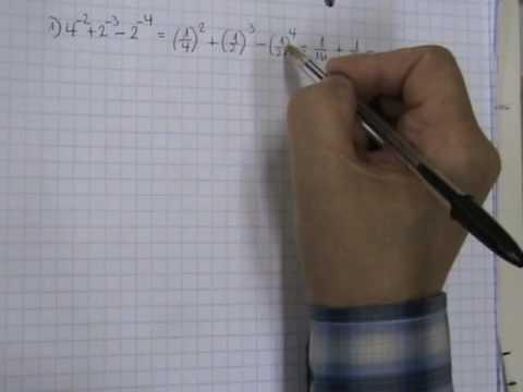 Vídeos Educativos.,Vídeos:Potencias exponentes negativos
