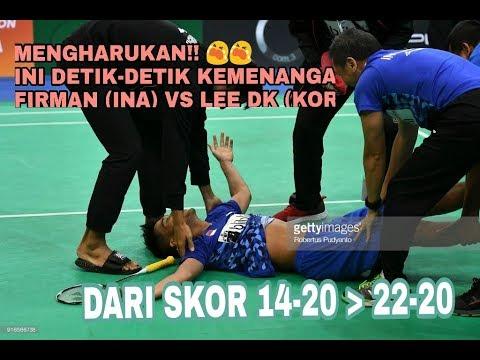 Download Video MERINDING!!  INI DETIK-DETIK KEMENANGAN TIM INDONESIA VS KOREA (3-2)