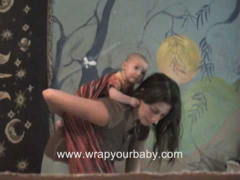 Back Wrap Cross Carry from Wrap Your Baby