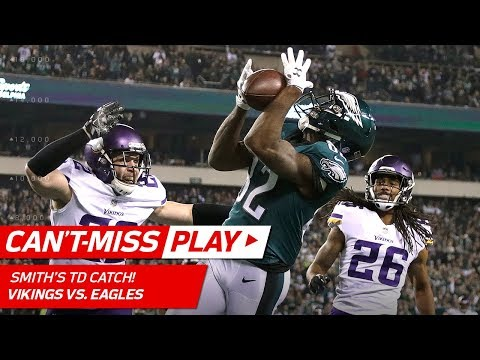 Video: Nick Foles' 41-Yd Flea Flicker TD to Torrey Smith! | Can't-Miss Play | NFC Championship HLs
