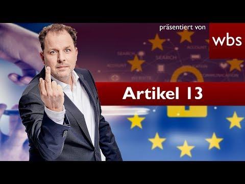 Artikel 13 Axel Voss nennt YouTuber Lügner & spricht von FAKE NEWS