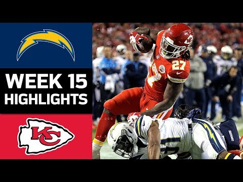 Chargers vs. Chiefs | NFL Week 15 Game Highlights (видео)