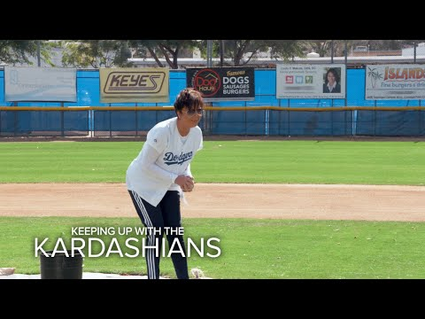 KUWTK   Kris Jenner Is at Bat--What Could Go Wrong?   E!