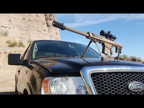 .50 Cal vs Truck Windshield