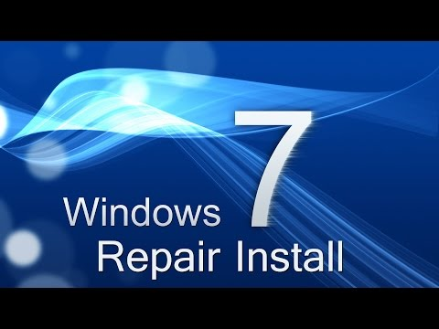 Windows – Repair Install Without CD Disc (Windows 7 Home Premium, Ultimate, Professional, Basic)