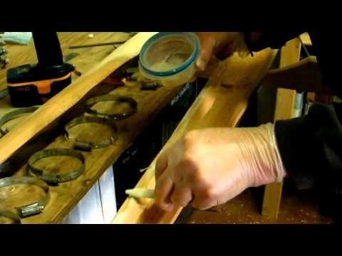 Copperman - How to make a Didgeridoo 6/8 - Glue and Clamp