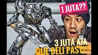Video UNBOXING MEGATRON DECEPTICON by BMB! GAK NGERTI LAGI, SEKEREN INI BISA 1 JUTA?? MP3, 3GP, MP4, WEBM, AVI, FLV Maret 2019