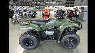 7. 2012 Honda FourTrax Recon ES