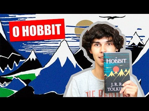 Livro O Hobbit - J.R.R. Tolkien