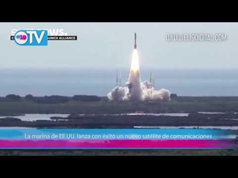 La marina de EE.UU. lanza con éxito un nuevo satélite de comunicaciones