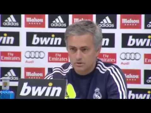 Mourinho muestra su apoyo a Tito Vilanova (видео)