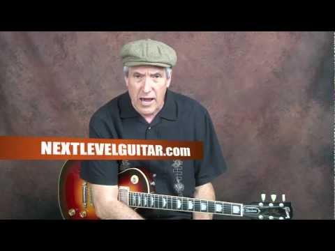Summertime Blues rockabilly style guitar lesson Eddie Cochran inspired rhythm song