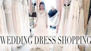 COME SHOPPING WITH ME FOR MY WEDDING DRESS! VISIT HALFPENNY - http://www.halfpennylondon.com/ ___...