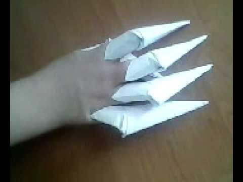 Смотреть видео как делать поделки из бумаги своими руками