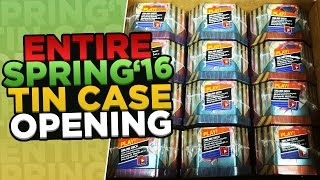 Opening a WHOLE CASE of Pokemon 2016 Spring Tins - FULL ART MADNESS! by ThePokeCapital