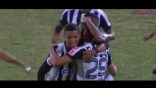 Gol de Thiago Maia: Atlético-GO 1 x 1 Santos - Brasileirão 2017