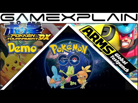 Datamniners Find Evidence of Gen 3 in Pokémon Go + New ARMS Testpunch Announced + Pokkén Demo Coming