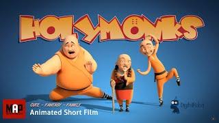 HolyMonks (HD) Funny Animated Film Feat.in Sketchozine.com V.1+8 By DigitalRebel Studio