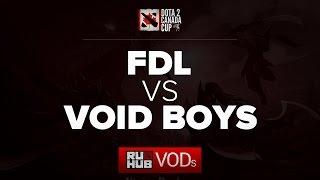 Voidboy vs FDL, game 1