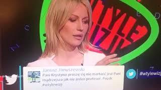 Magdalena Ogórek opluwa TVN i Frasyniuka w TVPiS