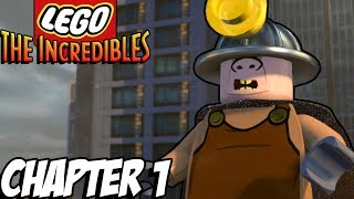 THE LEGO UNDERMINER! -  Lego The Incredibles Gameplay - Chapter 1 (Kid Friendly Lego Gaming FUN!)