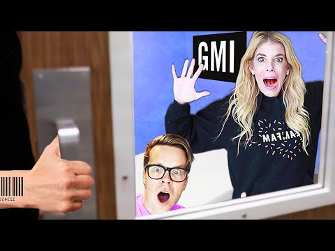 They TRAPPED Us in GMI Escape Room in Real Life! (First to Leave Wins $10,000 Hawaii Hotel Room)