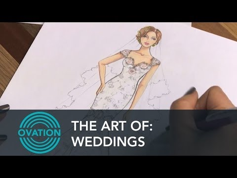 Weddings - Creating a Wedding Dress