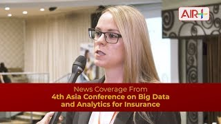 Big data and analytics trends in the insurance industry - Theresa Blissing