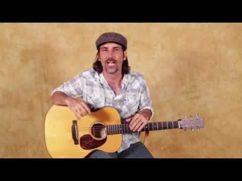 Acoustic Blues Guitar lesson (with a cool twist)
