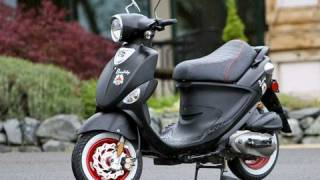8. Genuine Buddy Black Jack Scooter Test