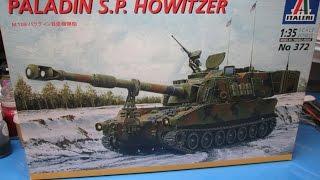 10. Italeri 1/35 Paladin S.P. Howitzer