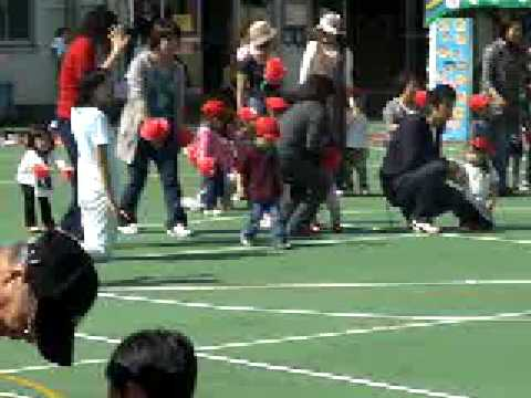 2008/10/13 初めての運動会