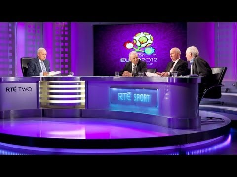 rte - John Giles, Eamon Dunphy and John Giles discuss the media, and Spanish commentator Michael Robinson's harsh comments about the Republic of Ireland team ahead...