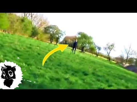 5 ГИГАНТСКИХ СЛЕНДЕРМЕНОВ СНЯТЫХ НА КАМЕРУ [Черный кот] - DomaVideo.Ru