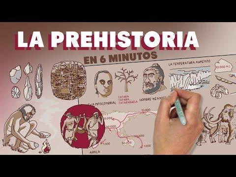 La Prehistoria en 6 minutos
