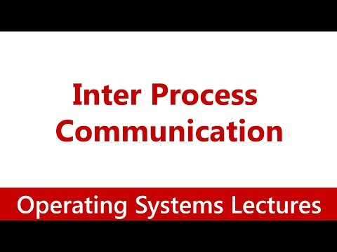 Operating System #23 Inter Process Communication, Message Passing,Pipes, Signals