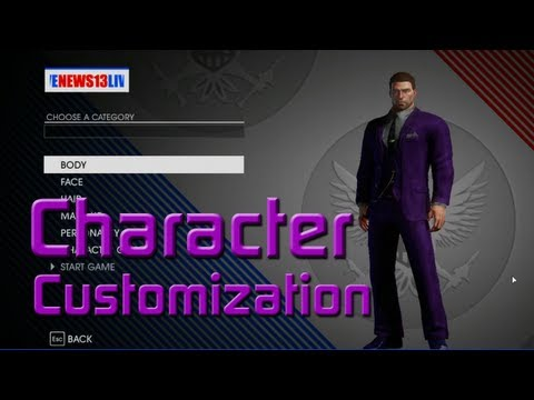 character creation - Warning Spoilers****** Remember if you enjoy the walkthrough leave a like & be sure to subscribe! This is TheMediaCows Saints Row 4 Character Customiza...