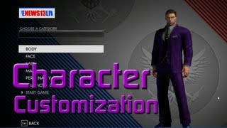Saints Row IV - Gameplay Walkthrough - Character Creation