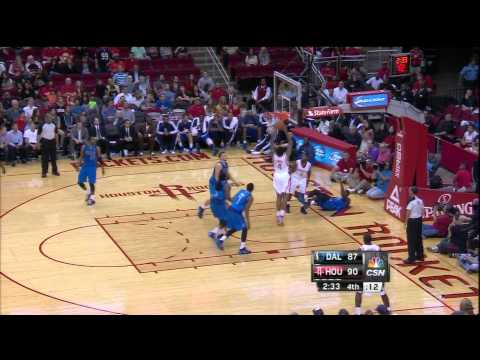 Greg Smith Slam vs Mavericks (Preseason)