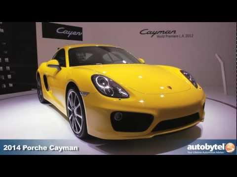 2014 Porsche Cayman At The LA Auto Show