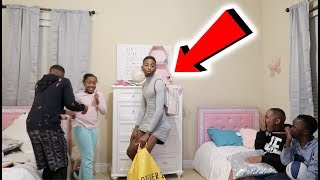 I WANT TO BE A GIRL PRANK ON MIRAH ,JAY,  WOO & TORY!