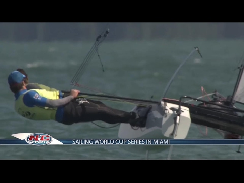 Sailing World Cup Series in Miami | NC Sports 03 Feb
