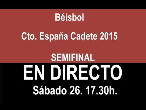 Semifinal Campeonato de España Cadete